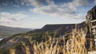 Shot using a motion controlled slider at Dinorwig Power Station in Llanberis, North Wales.