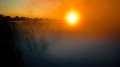 Sunrise, Main Falls.