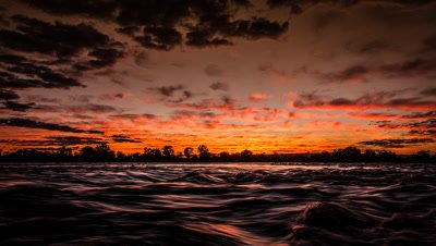 Dawn colours, Upper Zambezi