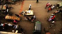 Overhead View Of Dhaka Street