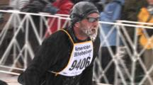American Birkebeiner, Tired Racer Finishing, Frosted Face, Beard, Happy To Be Alive