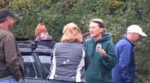 Pre-Race, Runner Eating Hi Energy Food, Preparing For Long Race, Talking