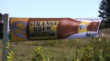 Beer Banner, Strange Brew, Chequamegon Fat Tire Bike Race