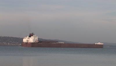 Iron Ore Boat,Lake Superior,Duluth Harbor