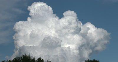 Time Lapse Cumulus Clouds