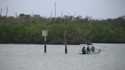 Fishing Boat Departing, Naples Florida