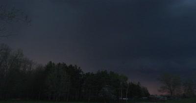 Lightning Over Small Farm