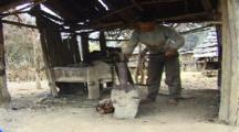 Blacksmith Hammering