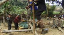 Sugar Cane Crushing In Village