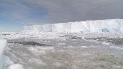 scenic ice holes, Cape Washington, Antarctica