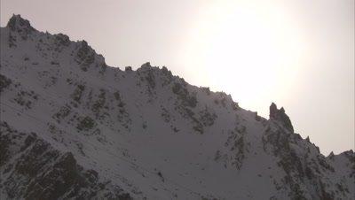 Mountain range, Balang Shan Pass, Sichuan, China