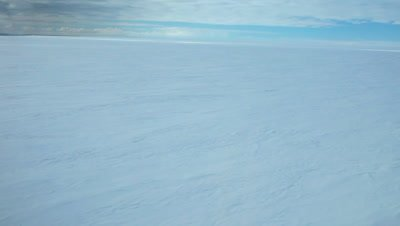 Aerial Ross Ice shelf edge, Ross Sea, Antarctica