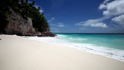 Tropical beach, Seychelles, Indian Ocean