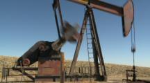 Oil Drilling Royalty Free Stock Footage