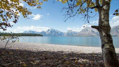 TIme Lapse on Jackson Lake Grand Tetons