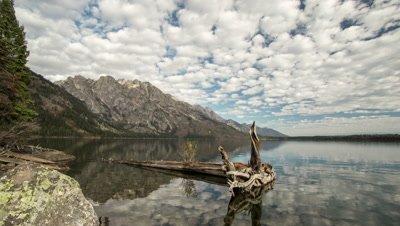 Time Lapse at Jenny Lake.