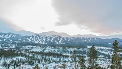 6K time lapse from Breckenridge Colorado.