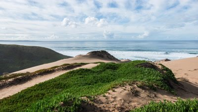 6K time lapse from Marina Dunes in Monterey California