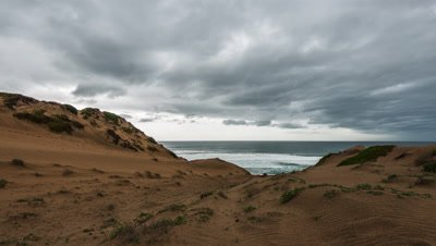 6K time lapse from a storm over Monterey Bay from Marina Dunes in Monterey California