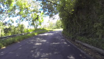 Time lapse of drive to Hana called the Road to Hana