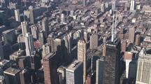 Aerial Chicago, Il Skyline