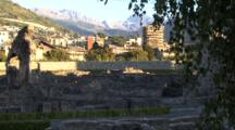 Valle D'aosta, Aosta Valley, Roman Monuments, Castles, Churches, Italy