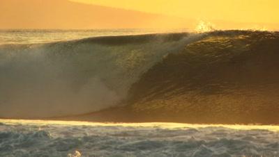 Big Ocean Wave Stock Footage