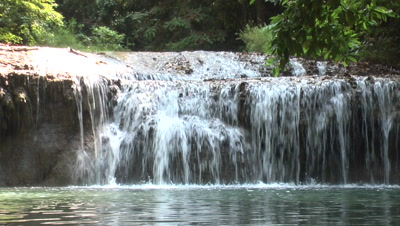 3D Waterfall Footage