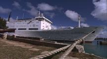 Titanic Excursion Preparations - Keldysh Docked In Burmuda