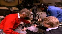 Titanic Excursion Preparations - Emory Kristof's National Geographic Camera Mounted On Mir