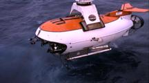 Mir Submersible Stock Video Footage