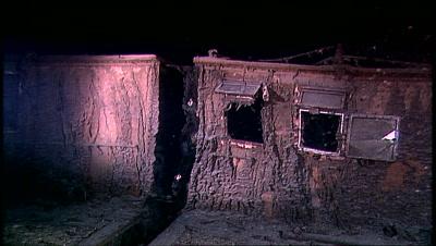 Titanic Shipwreck Stock Footage