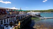 Restaurant On Dock