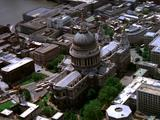 Aerial Of London Cityscape, Cathedral