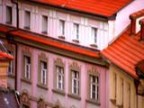 Colorful Old Buildings In Prague