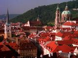 Time Lapse Rooftops And Cathedral In Prague