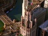 Aerial Of Chicago Cityscape