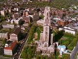 Aerial Of University Of Pittsburgh, Cathedral Of Learning