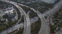 Aerial Over Freeway, La