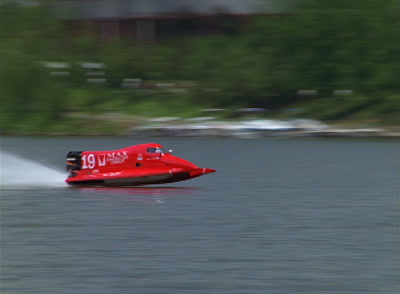 Speed Boats In Race