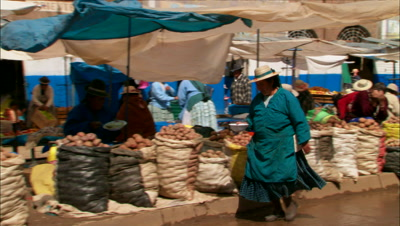 Stock Footage of Traditional Markets