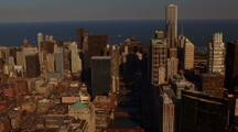 Aerial Chicago Skyline