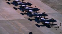 Aerial Of Military Planes