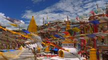 Buddhist Temple, Stupa, In Nepal