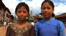 Children Smiling In Nepal