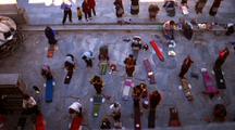 People Worshipping In Nepal