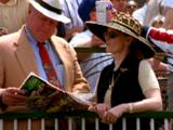 Spectators In Stands At Kentucky Derby