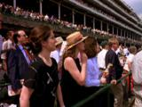 Spectators At Kentucky Derby
