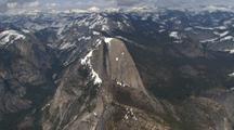 Aerial of Yosemite, Including Half Dome