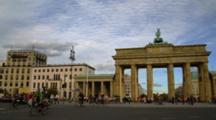 Brandenburg Gate In Berlin, Pan